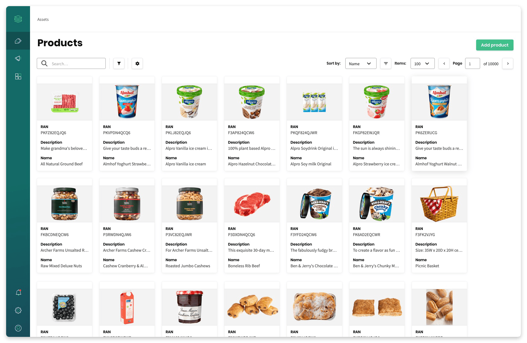 Relayter digital asset management for retailers products and promotions