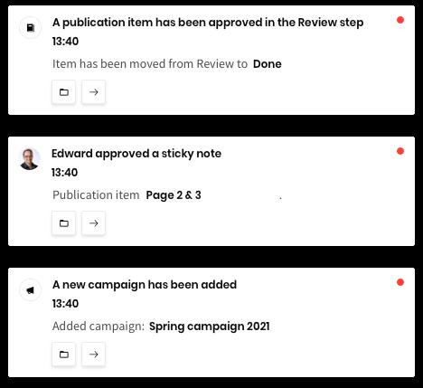 Relayter workflow notifications